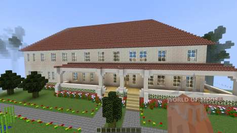 Modern Southern Mansion [1.8][1.8.8] for Minecraft