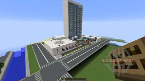 United Nations: New York New York for Minecraft