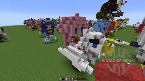 Character Statues for Minecraft