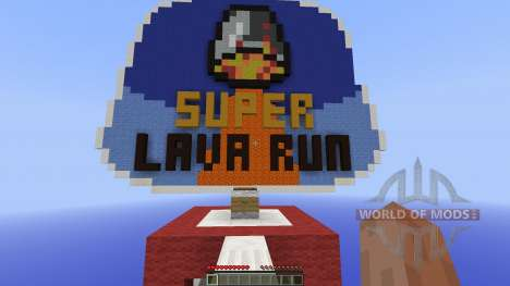Super Lava Run [1.8][1.8.8] for Minecraft