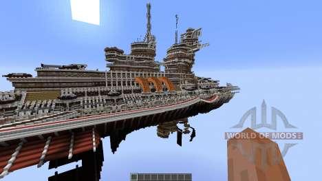 Aurora-Class Battleship for Minecraft