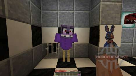 Fazbear Fright The Horror Attraction[1.8][1.8.8] for Minecraft