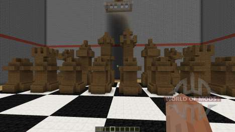 Playable Chess in Minecraft for Minecraft