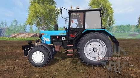 MTZ-82.1 Belarus tuning v2.3 for Farming Simulator 2015