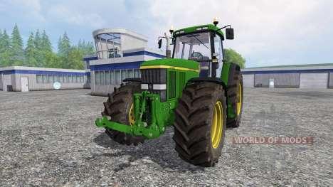 John Deere 7810 v4.2 for Farming Simulator 2015