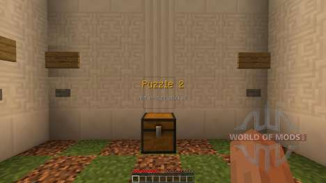 The Wooden Puzzles [1.8][1.8.8] for Minecraft