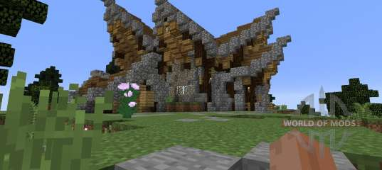 Fantasy Nordic Mansion For Minecraft