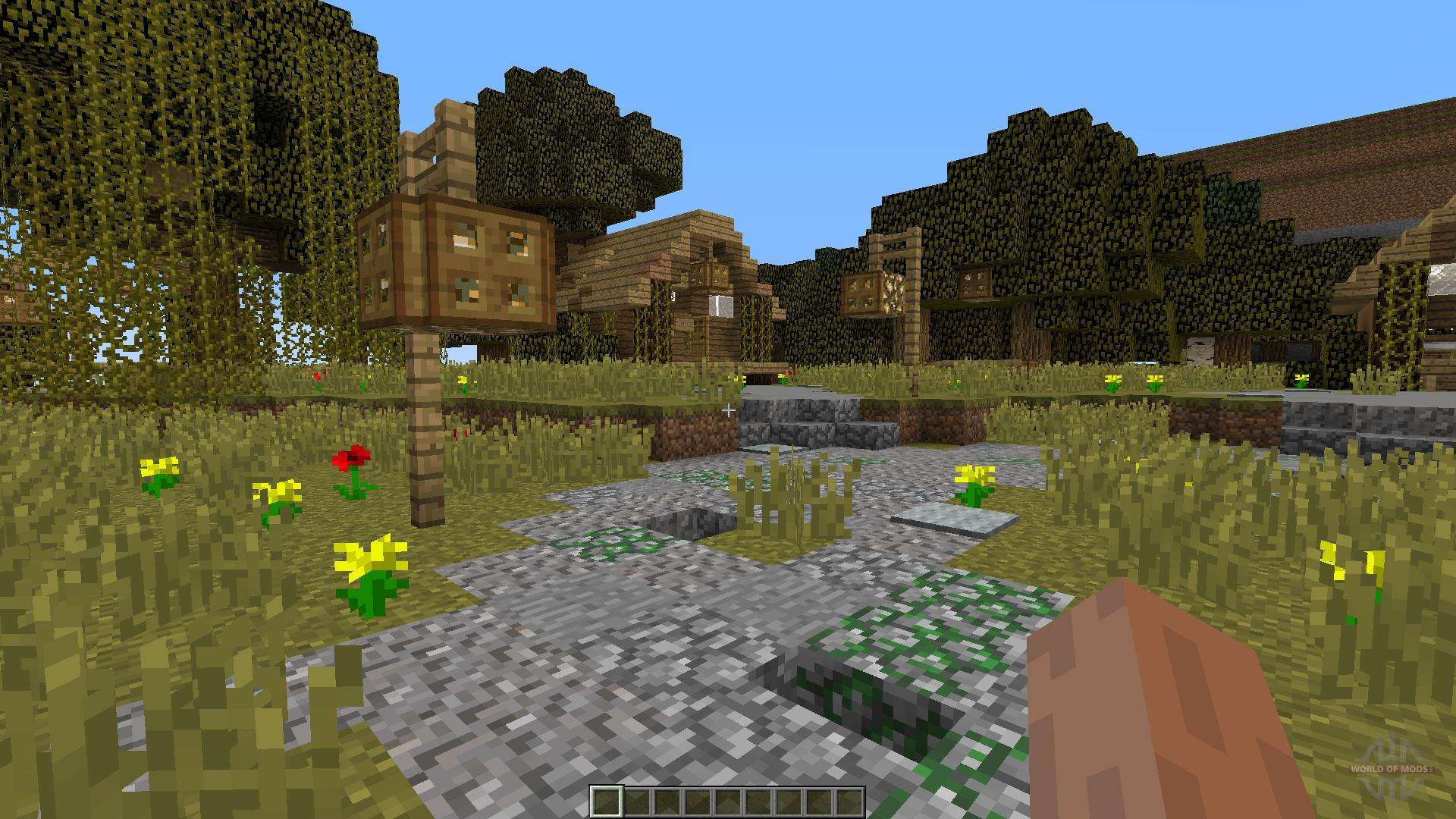 Minecraft Zombie Survival Map for Minecraft