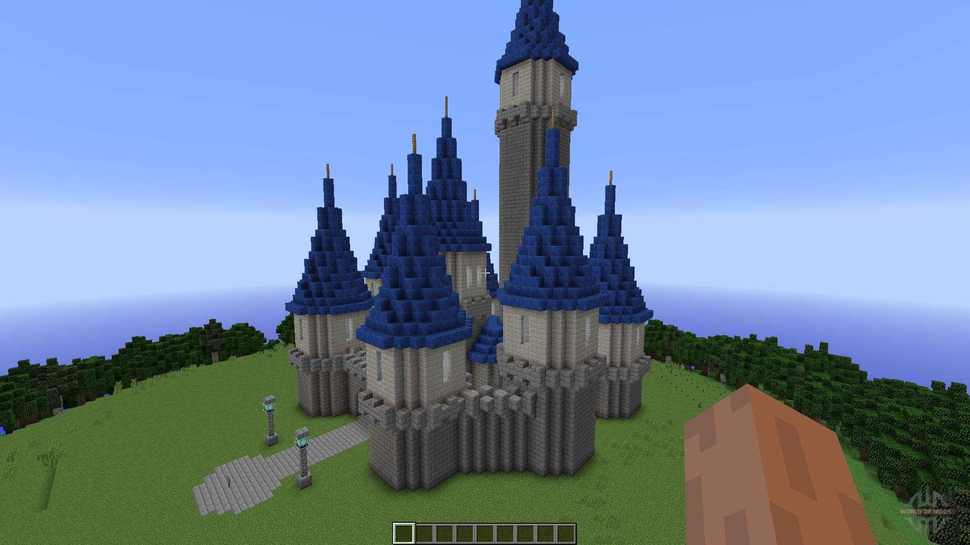 Island castle for minecraft - Chateau de minecraft ...