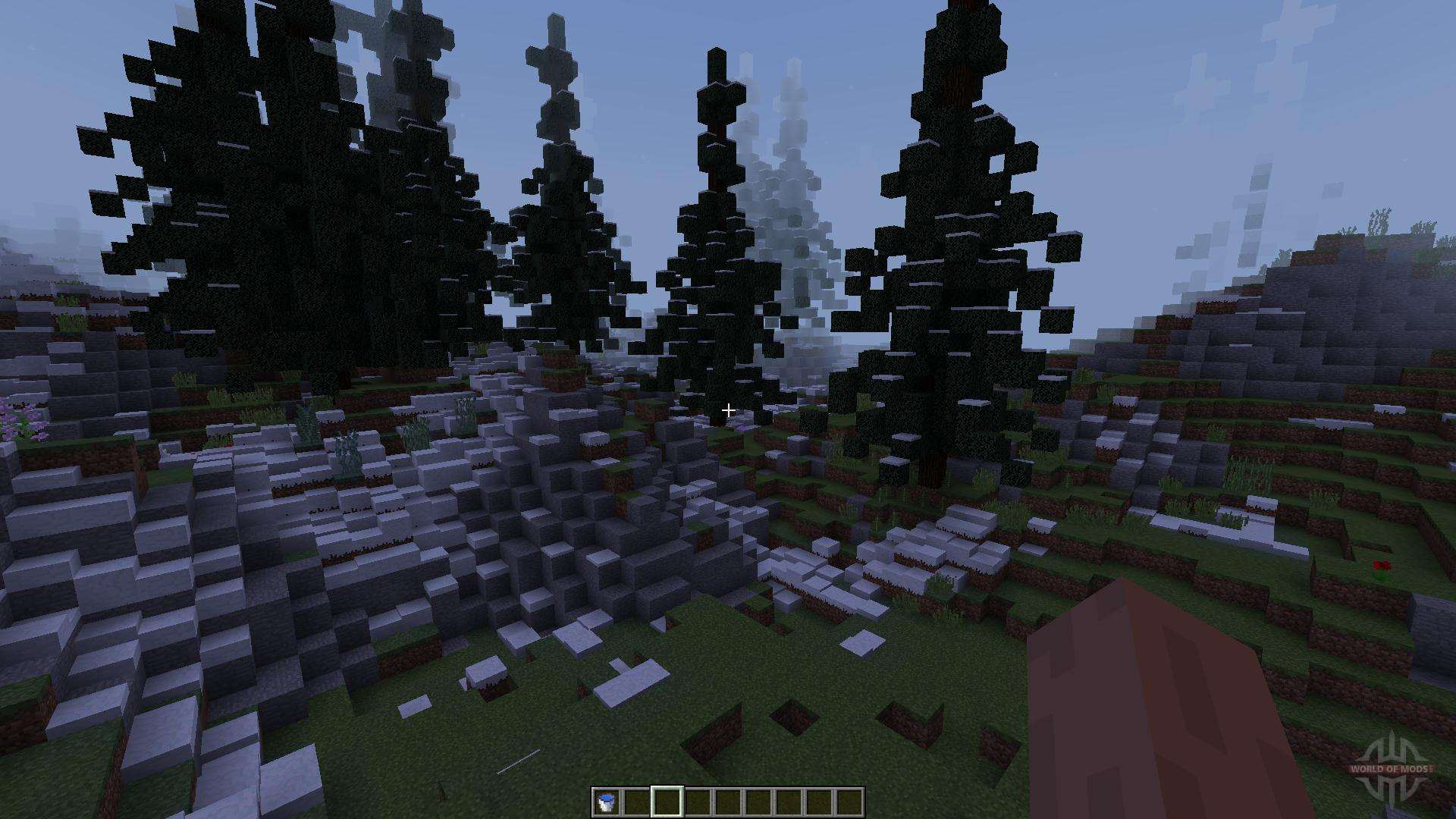 Ice Waterfalls 1 8 1 8 8 For Minecraft