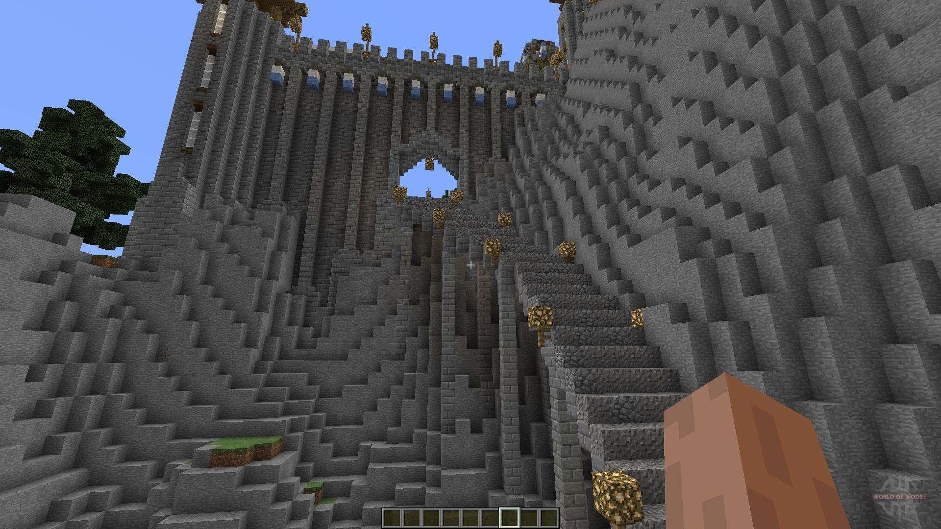 замок в майнкрафте карта #4