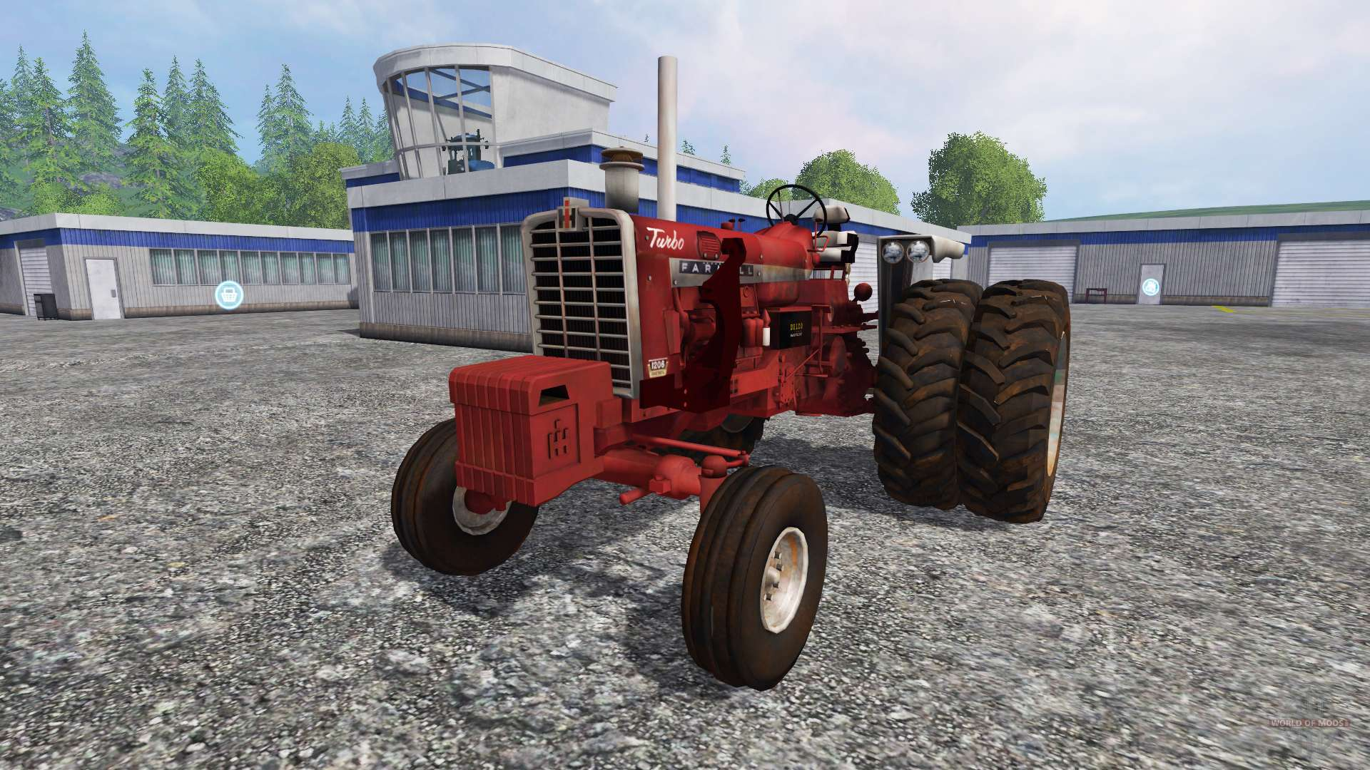 Tractor Simulator 2 : Farmall for farming simulator