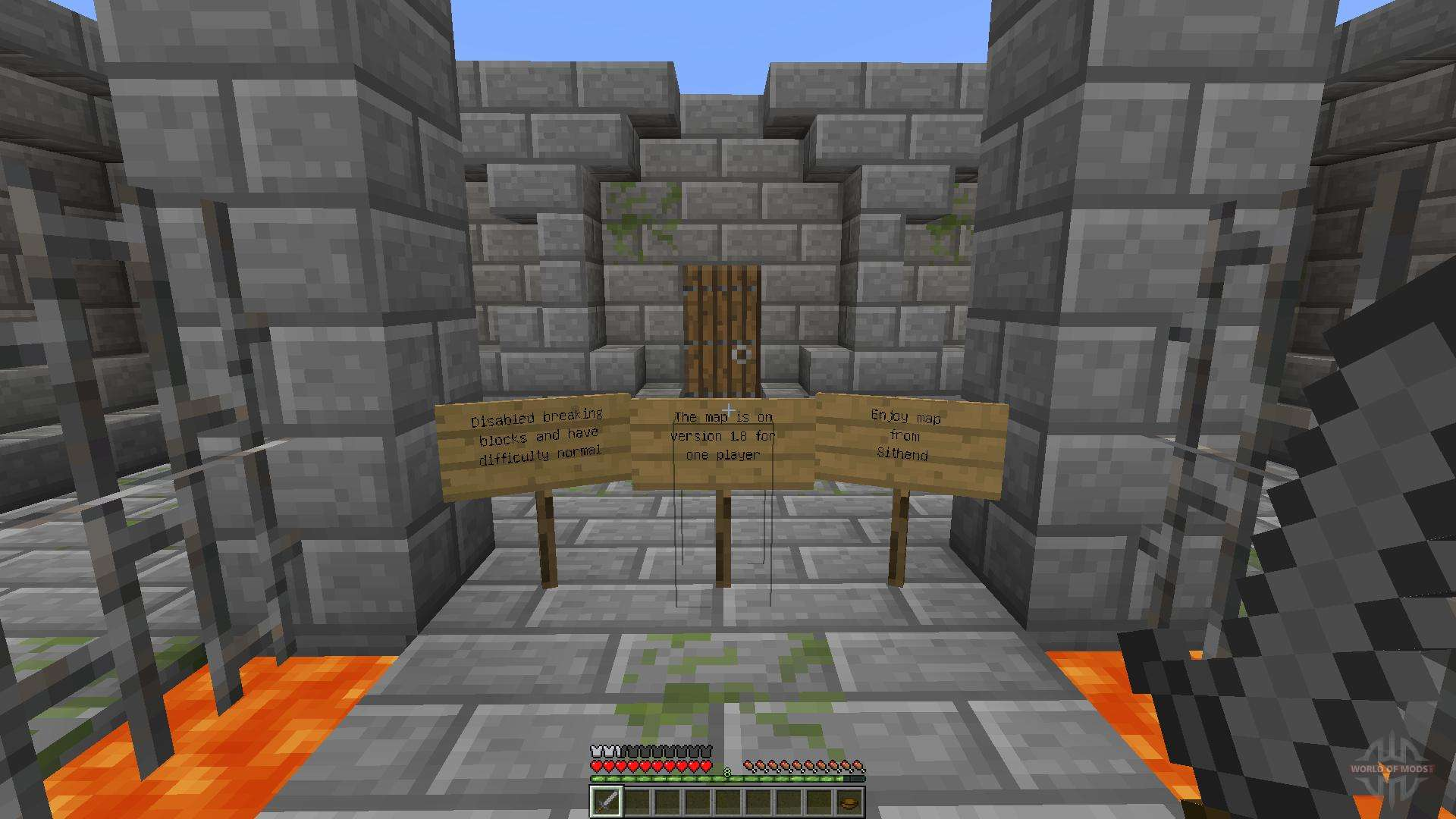Dungeon Room For Minecraft