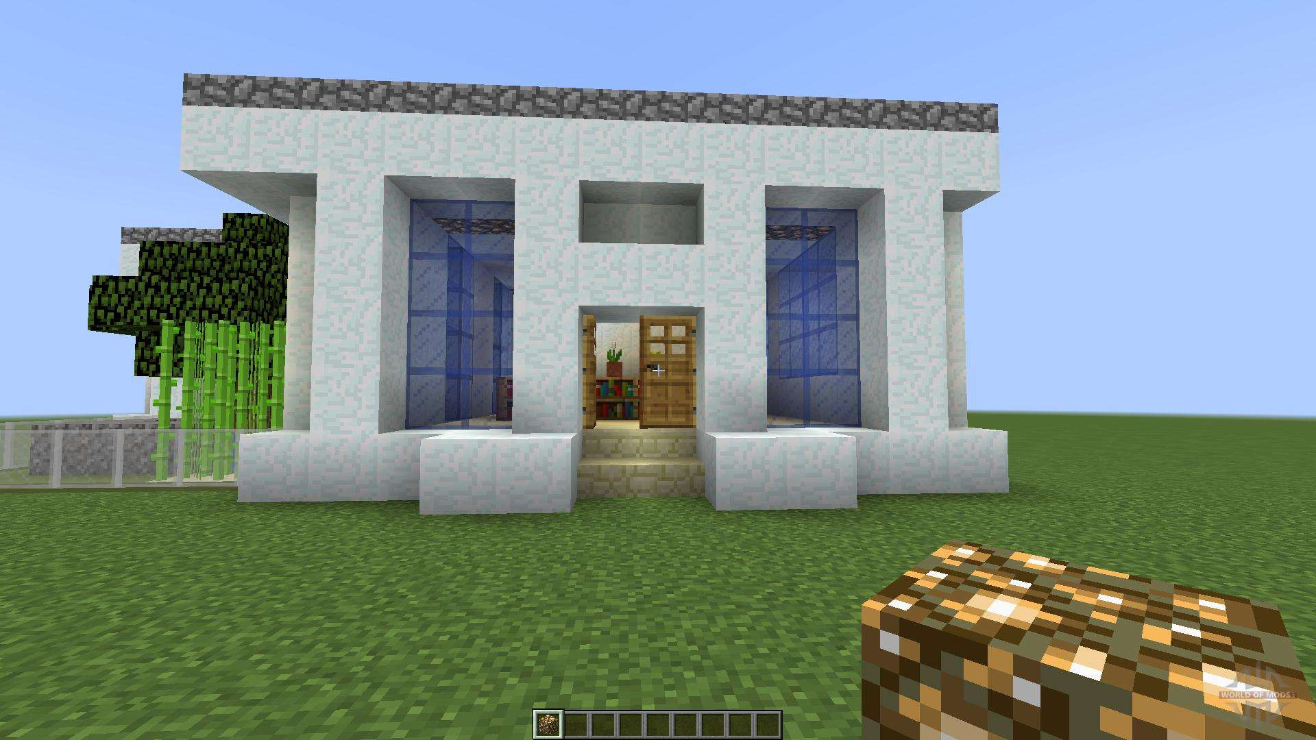 Modern House 3 The Cabin 1 8 1 8 8 For Minecraft