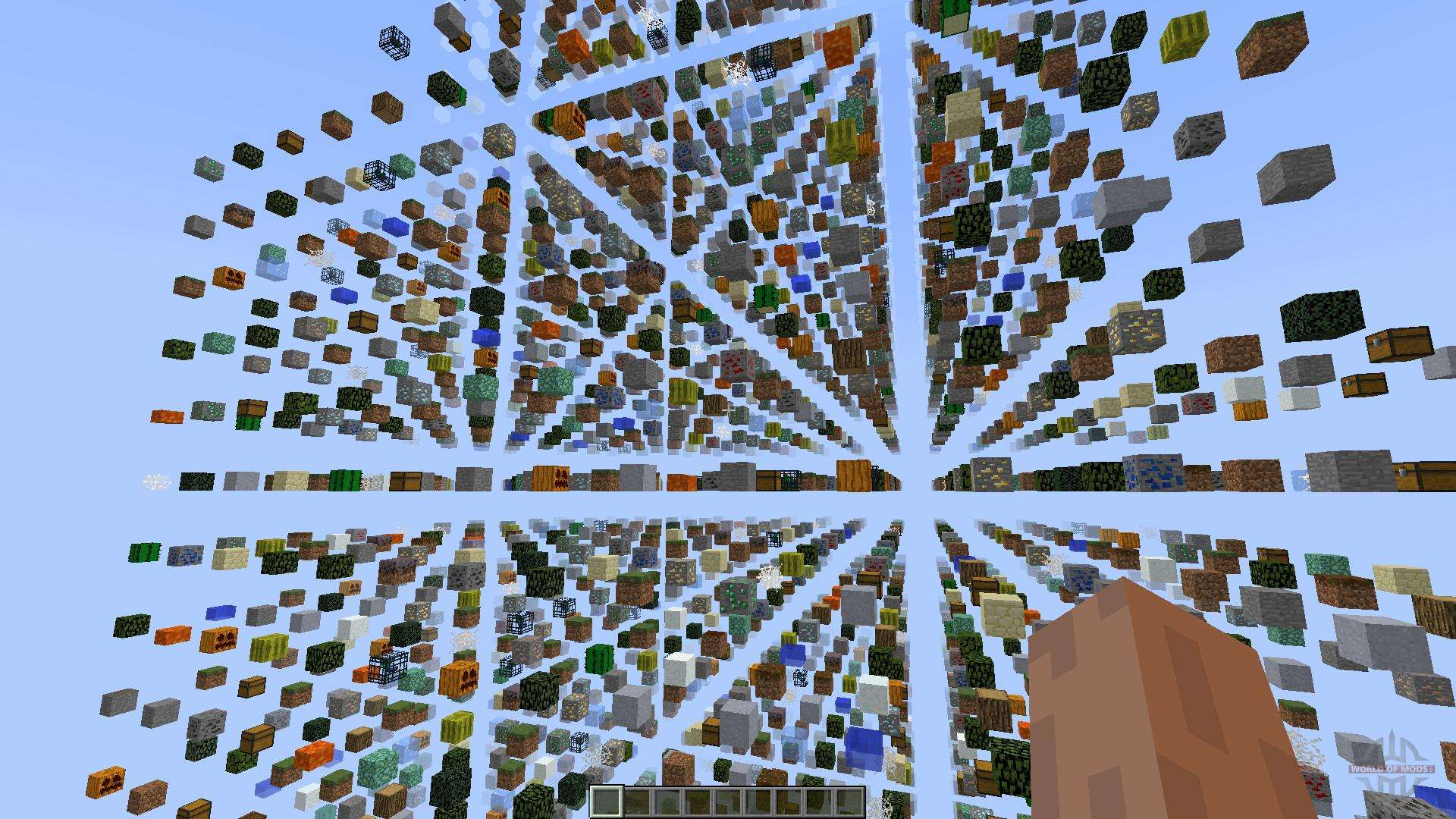 minecraft pc skygrid map download