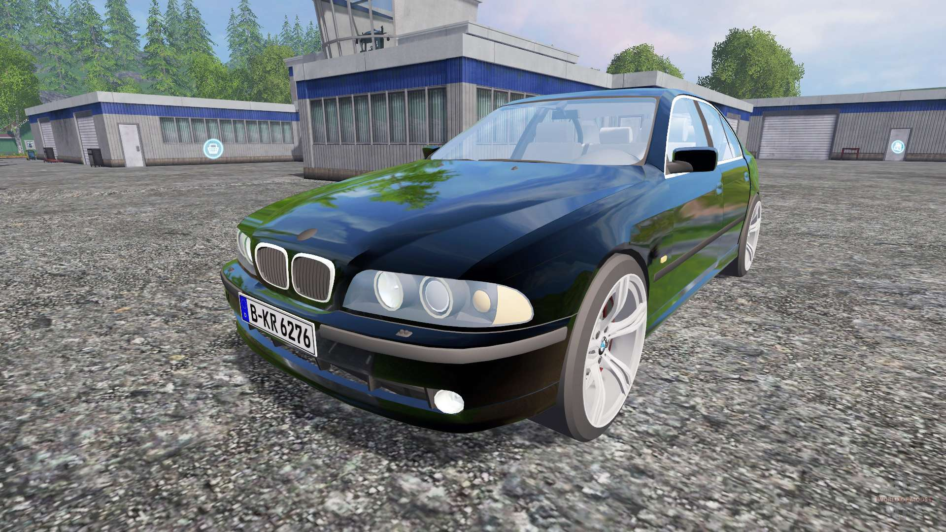 bmw 540i e39 2001 for farming simulator 2015. Black Bedroom Furniture Sets. Home Design Ideas