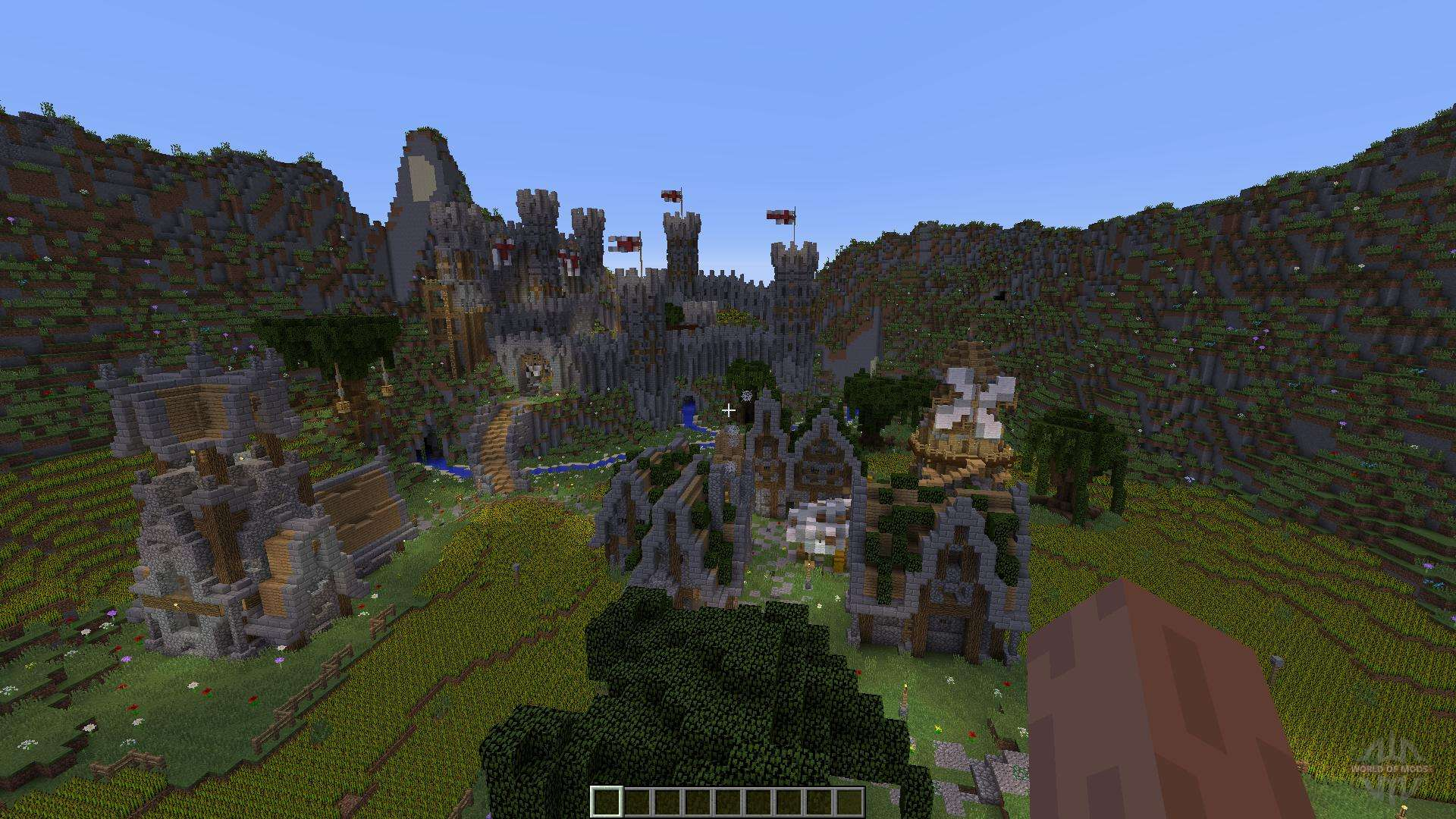 Wilcuth Valley Medieval Castle for Minecraft