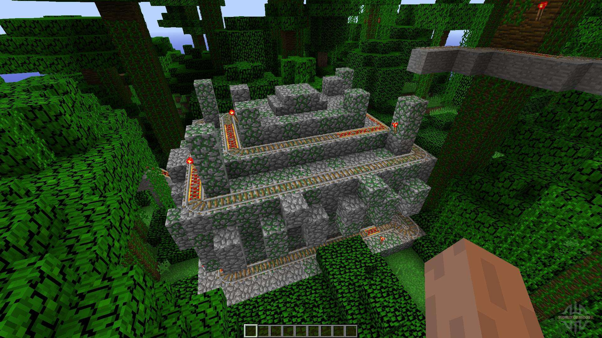Jungle Temple Coaster For Minecraft