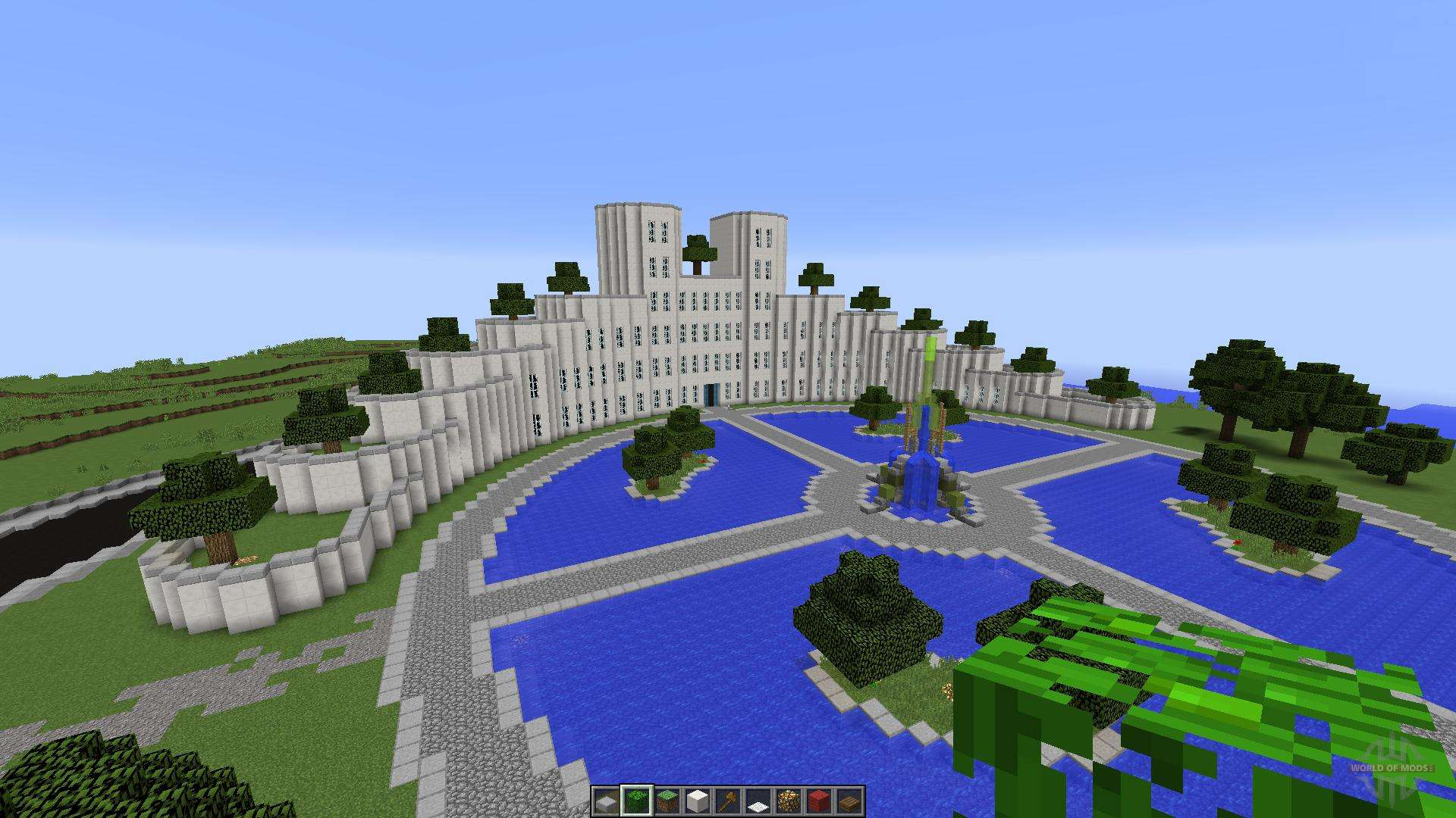 Beach Hotel For Minecraft