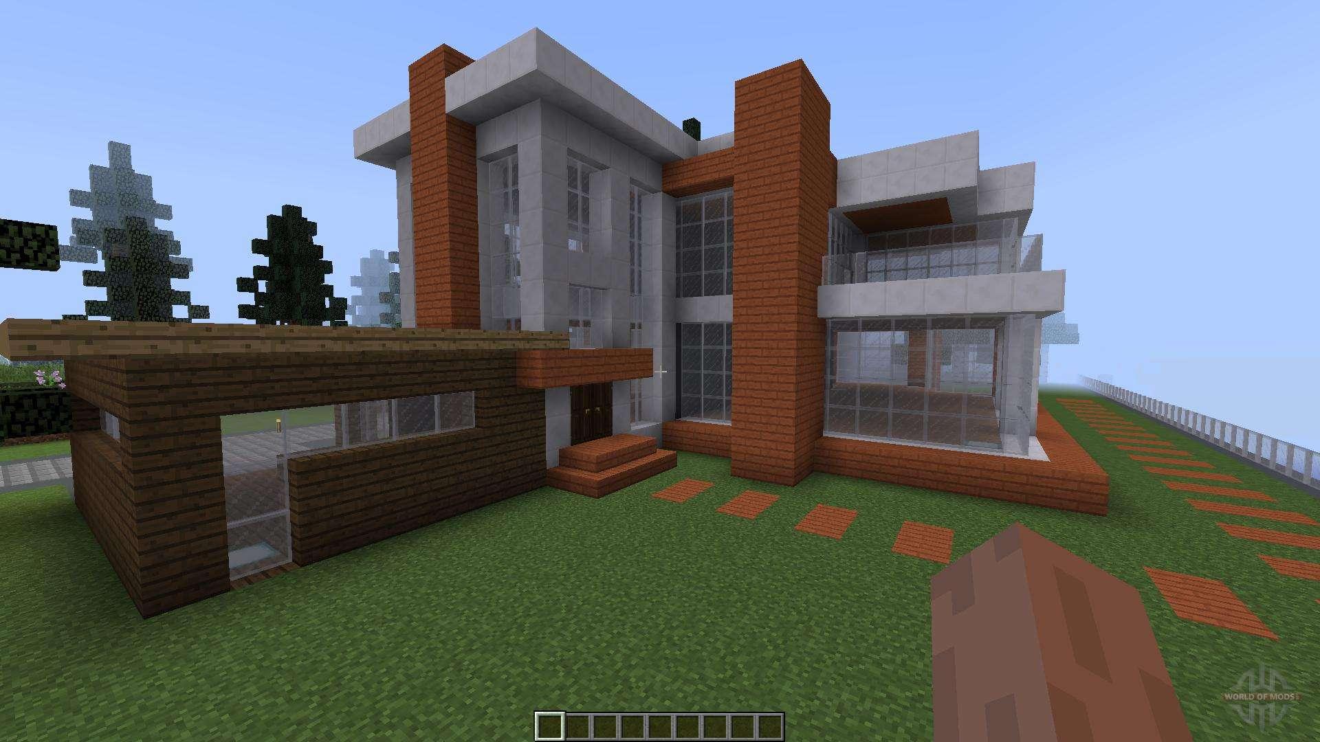 Summer Lakehouse Modern 1 8 1 8 8 For Minecraft