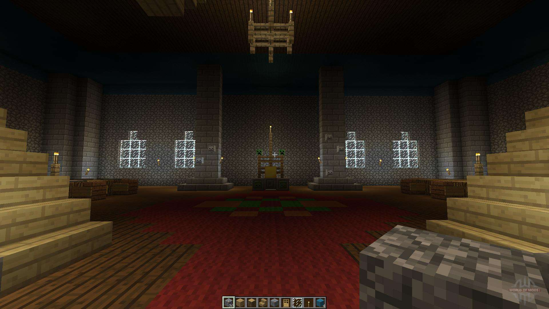 Castle and Village for Minecraft