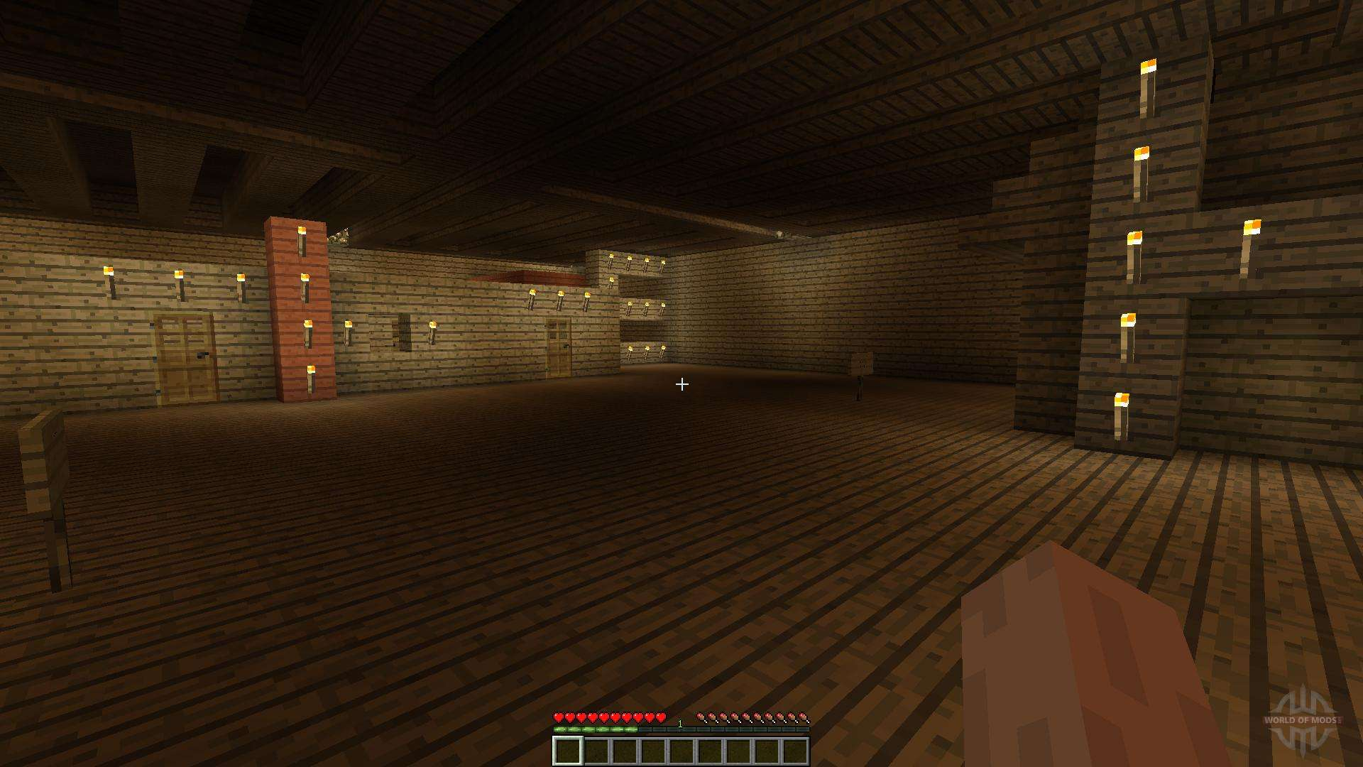 Burning House 1 8 1 8 8 For Minecraft