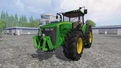 John Deere 8370R v3.0 for Farming Simulator 2015