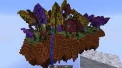 Mushroom sky island