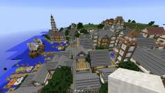 Minecraft town-Oakville