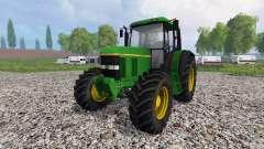 John Deere 6100 v2.0 for Farming Simulator 2015