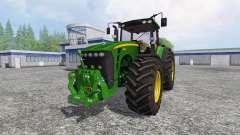 John Deere 8530 v5.0 for Farming Simulator 2015