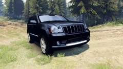 Jeep Grand Cherokee SRT-8 2009 for Spin Tires
