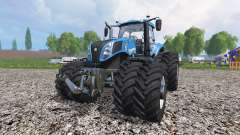New Holland T8.435 v1.2 for Farming Simulator 2015