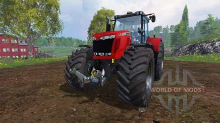Massey Ferguson 8737 v3.0 for Farming Simulator 2015