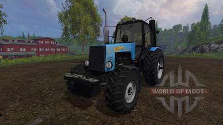 MTZ-1221 Belarusian v4.0 for Farming Simulator 2015