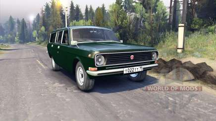GAZ-24-12 for Spin Tires