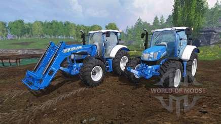New Holland T6.160 v1.1 for Farming Simulator 2015
