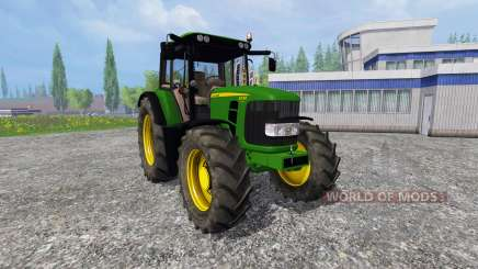 John Deere 6330 Premium v2.0 for Farming Simulator 2015
