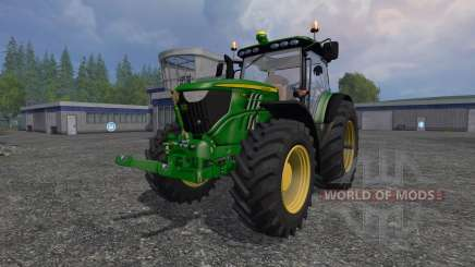 John Deere 6210R for Farming Simulator 2015