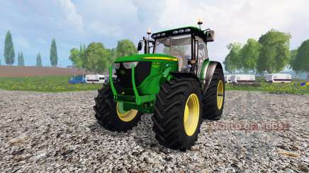 John Deere 6130R for Farming Simulator 2015