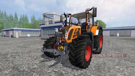 Fendt 718 Vario orange for Farming Simulator 2015