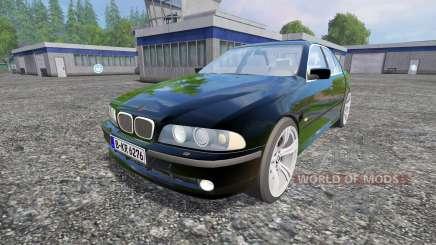 BMW 540i (E39) 2001 for Farming Simulator 2015
