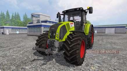 CLAAS Axion 850 v6.0 for Farming Simulator 2015