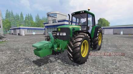 John Deere 6930 v2.0 for Farming Simulator 2015
