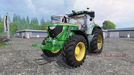 John Deere 6210R v1.1 for Farming Simulator 2015