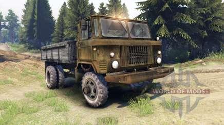 GAZ-SAZ-3511-66 for Spin Tires