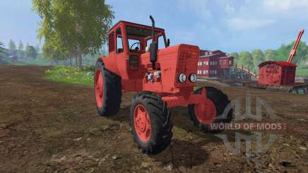 MTZ-52 red for Farming Simulator 2015