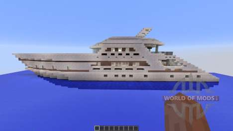 Yacht Ultra Modern for Minecraft