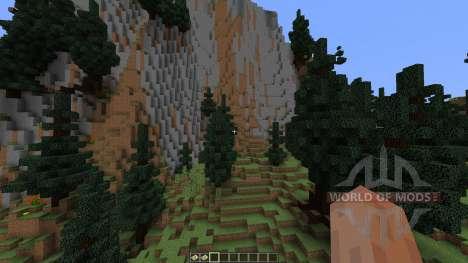 TerraCliff Extreme Terrain for Minecraft
