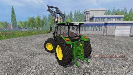 John Deere 5080M FL for Farming Simulator 2015